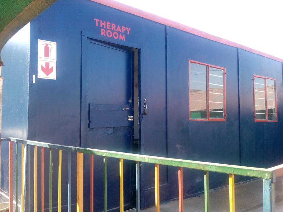 The therapy room at Bona Lesedi