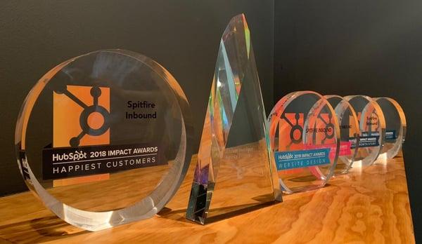 Spitfire Inbound HubSpot Impact Awards-1