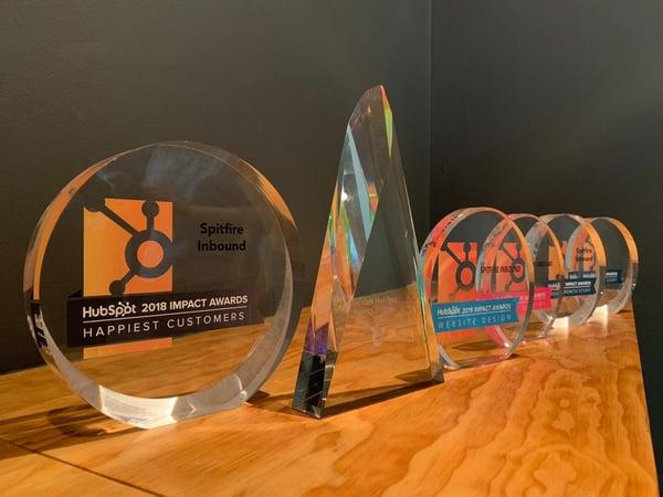 Spitfire Inbound HubSpot Impact Awards