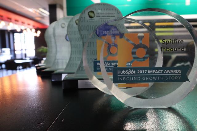 Spitfire Inbound award winning inbound marketing agency