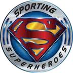 Sporting superheros logo